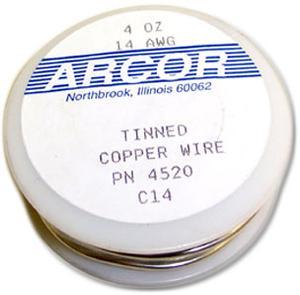 14 Gauge Pre-Tinned Wire - 4 Oz