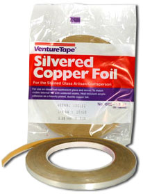 3/8 Double Sided Silver Foil - 1.5 mil