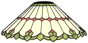 16 Quot Art Nouveau Lamp Pattern Cone Shades Cone Shades