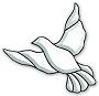 Flying Dove Bevel Cluster