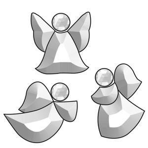 Tiny Angels Bevel Cluster