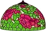 13 Rose bouquet lamp pattern