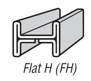7/32 FH Zinc Came - 22 lb Box
