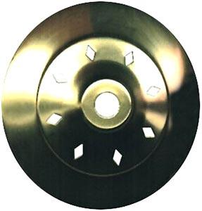 2-1/2 Diamond Vent Vase Cap