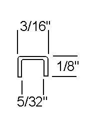 1/8 FU Brass Came - 22 lb Box