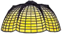 13 Spider & Web Lamp Pattern