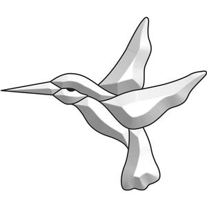 Hummingbird 2 Bevel Cluster
