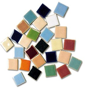Assorted Luster Tiles