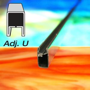 1/2 Adjustable U Zinc Came - Strip