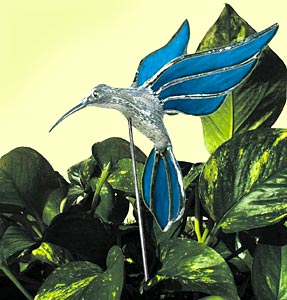 Hummingbird Cast Metal Figurine