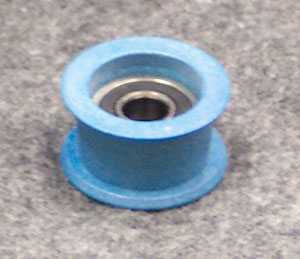 II.2 Blue Grommet Pulley with Bearing