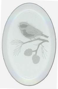 Chickadee Engraved Bevel