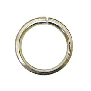 3/8 Silver Rings - 50 Pieces