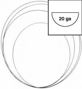 148113 20 gauge silver wire half round on wire gauge resistance chart
