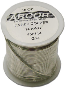 14 Gauge Pre-Tinned Wire - 1 lb