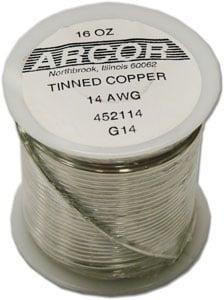 14 Gauge Pre-Tinned Wire - 1 Lb