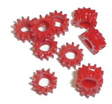 II.2 Red Gear Grommets