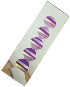 zipper dichroic bevel, 1 x 4