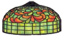 10 LEMON LEAF lamp pattern