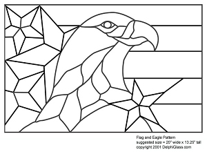 Free Flag and Eagle Pattern