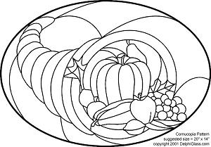Free Cornucopia Pattern