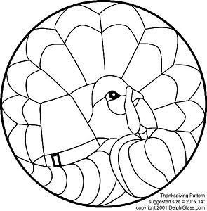 Free Thanksgiving Turkey Pattern