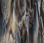 Bullseye Dark Brown, White Opal Streaky