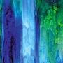 Oceanside Cobalt Blue, Emerald Green, Spring Green and Purple Mottle