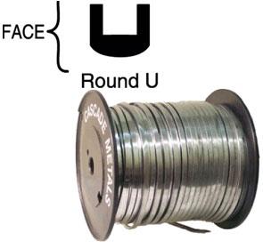 Spooled Lead - 1/4 Round U