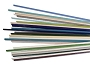 Pastel Opaque Effetre Rod Assortment - 104 COE