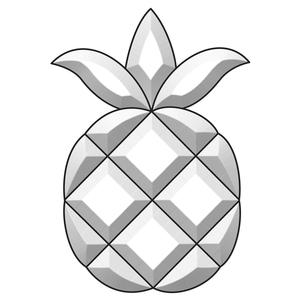 Pineapple bevel Cluster
