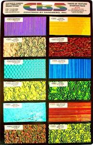Dichroic Assortment On Textures - 96 COE
