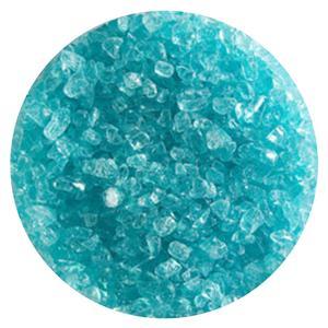 1 Lb Aqua Blue Tint Transparent Coarse Frit - 90 COE