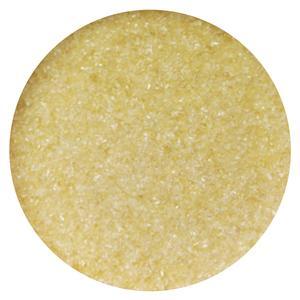 8.5 Oz Pale Amber Transparent Fine Frit - 96 COE