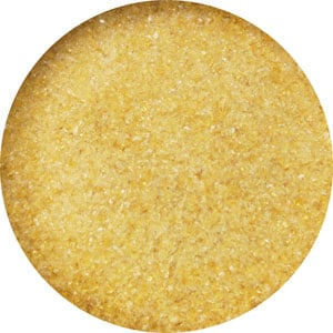 8.5 Oz Medium Amber Transparent Fine Frit - 96 COE