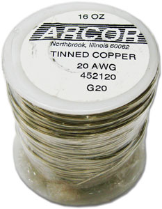 20 Gauge Pre-tinned Wire - 1 lb