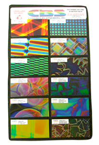 Pattern Dichroic Assortment on Thin Clear and Thin Black - 96 COE