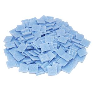 3/4 Sky Blue Glass Tile - 1 Lb