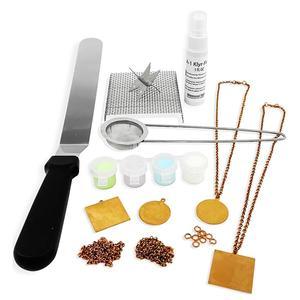 Fuseworks Beginners Copper Enamel Jewelry Kit