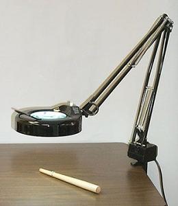 Deluxe Magnifier Lamp