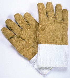 Deluxe High Heat Kevlar/PBI Gloves - 14 Length