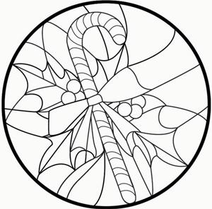 Free Candy Cane Pattern