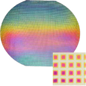 Squares on Thin Black - 90 COE