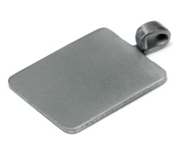 Stainless Steel Pendant Plates - Large