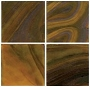 3/4 Olive Wispy Glass Tile - 1/2 Lb.