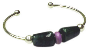 Silver Beadable Cuff Bracelet