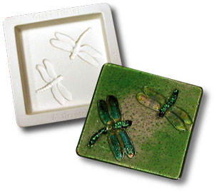Dragonfly Tile Casting Mold