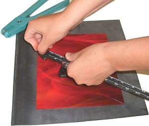 Glass Scoring and Breaking Mat