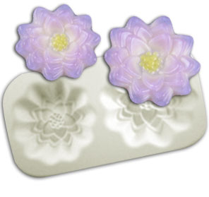 Lotus Flowers Casting Mold