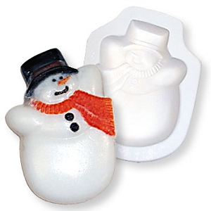 Snowman Casting Mold